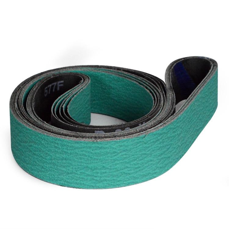 New 4pcs 2100*50mm 577F Abrasive Sanding Belts  Zirconia Alumina 82.67