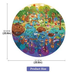 Image 5 - Mideerパズル150個パズルおもちゃ知育玩具ハンド塗装ジグソーパズルボードスタイルパズルボックスセット子供のためのギフト3 6Y
