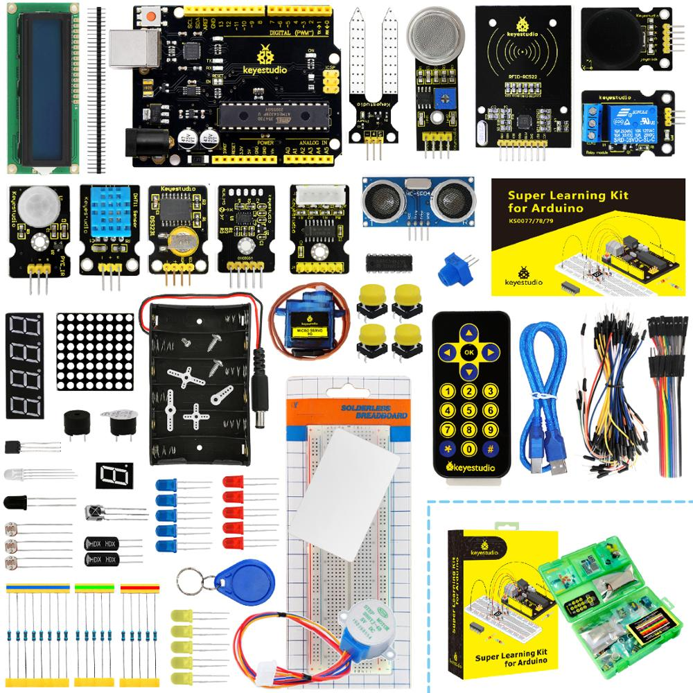 Keyestudio Super-Starter-Kit V4.0-Board UNOR3 32projects NEW with for Tutorial Upgraded