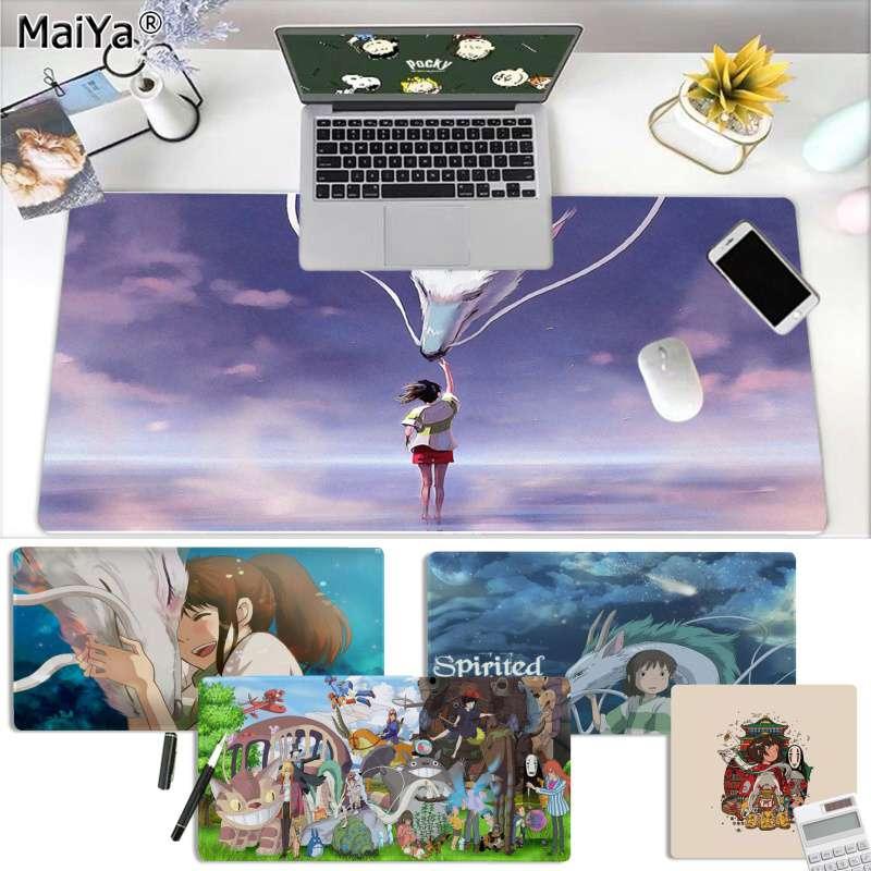 Maiya Anime Spirited Away Totoro Customized MousePad Computer Laptop Anime Mouse Mat Free Shipping Large Mouse Pad Keyboards Mat