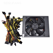 Mining PSU Coin Power-Supply Computer-Mining-Rig 8 Gpu 2000W PC ATX New 12v 4-Pin