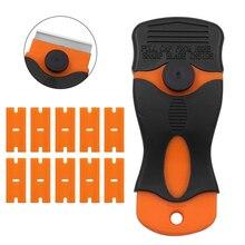 Razor Scraper Spatula Sticker Blade Removal-Tools Plastic-Handle Oven-Windows Glass Ceramic
