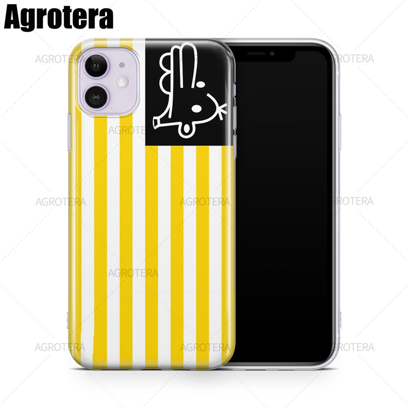 Agrotera Phone Cases Clear TPU Case Cover for iPhone 6 6s 7 8 Plus X XS XR 11 Pro Max SE 2020 Black Lives Matter Manny Flag