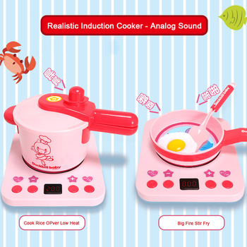 Children Play House Mini Kitchen Toys Set Cooking Simulation Tableware Cookware Pot Pan Kids Pretend Cook Utensils Girls Gift 1