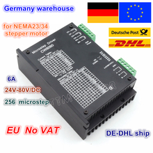 High Quality CNC Stepper Motor Driver Controller kit CW8060 80VDC/6A /256 Microstep for CNC Router Milling machine