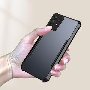 Image 1 - Pour Samsung Galaxy A32 4G 5G Antichoc de Luxe Cadre Clair Étui de Téléphone Pour Samsung A32 32 a32 4g 5g Transparent Airbag Arrière