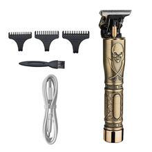 Профессиональная Мужская машинка для стрижки волос t blade outliner