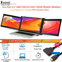 Eyoyo Dual Portable IPS Monitor 13.3