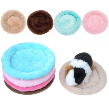 Warm Cotton Bed Plush Cat Bed House Soft Round Cat Bed Winter Pet Dog Cushion Mats For Small Dogs Cats Nest Warm Puppy Kennel image