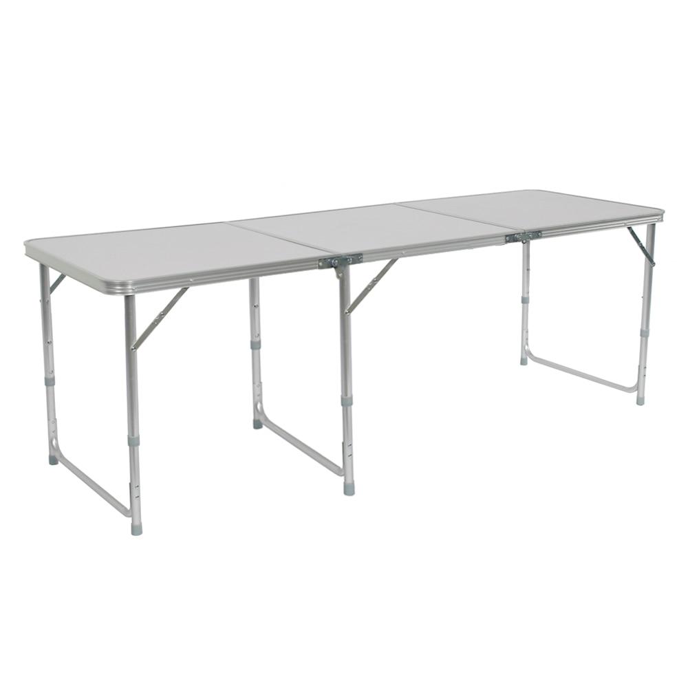 Portable Foldable Camping Table Folding Table Desk Camping Outdoor Picnic Aluminium Alloy Ultra-Light Outdoor Garden Furniture