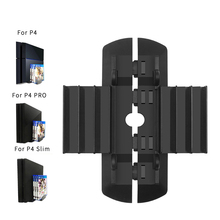 PS4 Pro/PS4 Slim Multi-function Vertical Stand Holder Bracket For PlayStation 4 Game Disks Card Box Storage Holder For Sony PS4 цена и фото