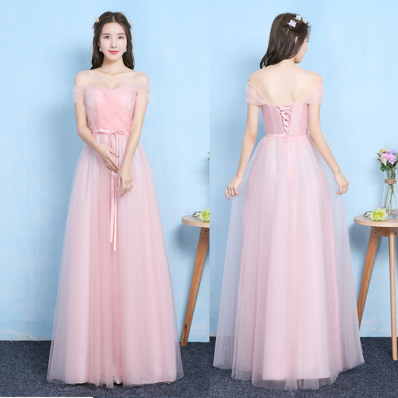 Elegant Dress For Wedding Party Plus Size Tulle Bridesmaid Dress Criss-Cross Sweetheart Long Floor Length Prom Sexy Dresses