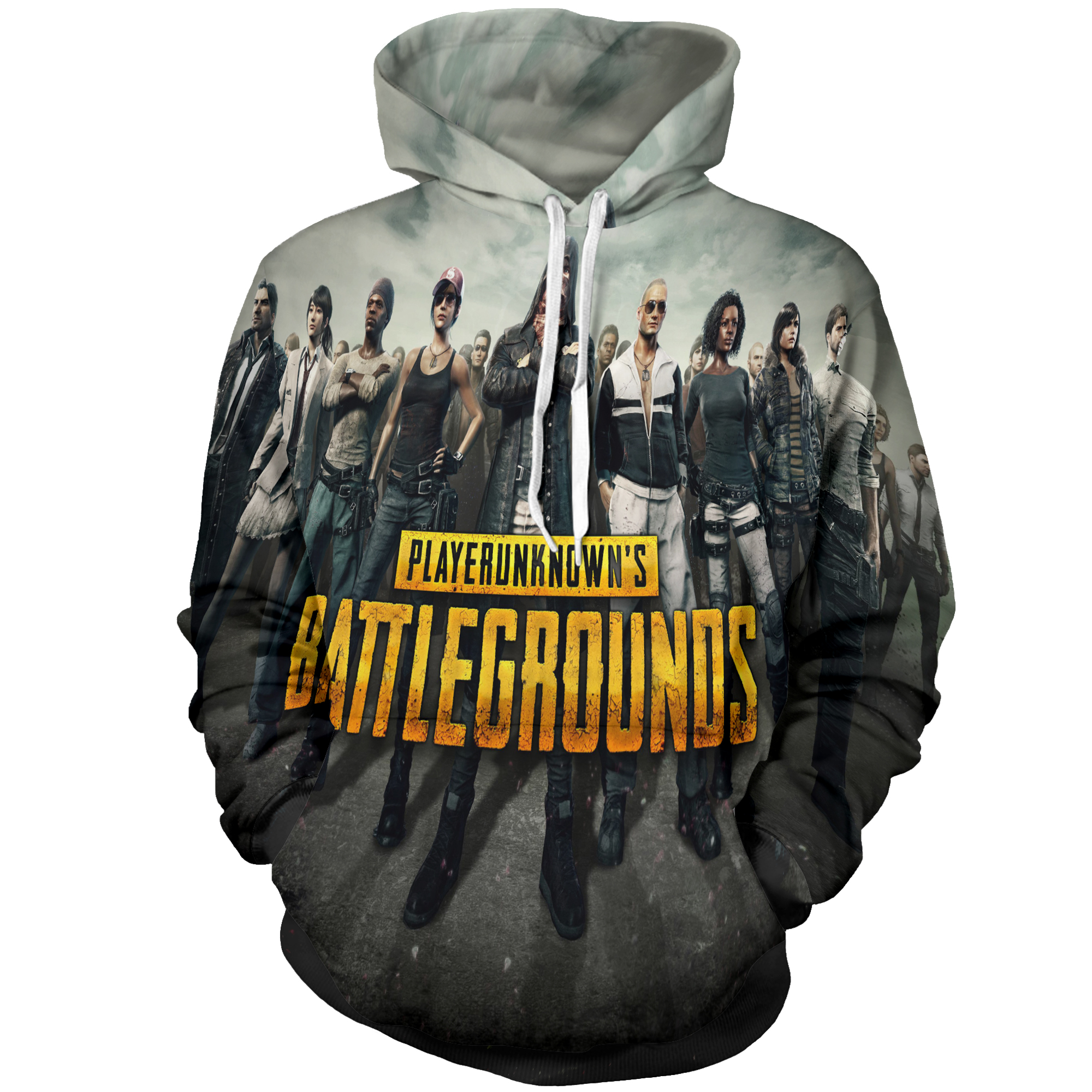 3D Hoodies Sweatshirt Battlegrounds Hot-Game 3d-Print PUBG Fashion Playerunknown's And