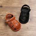 Babyshoes Summer Style 0-1-Year-Old Baby Shoes Cattle Gold Bottom Anti-slip BABY'S Shoes Sandals