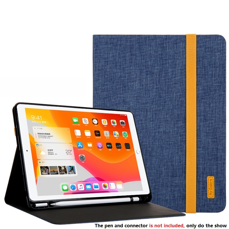 Sky Blue White Smart Sleep Wake UP Case For iPad 10 2 7 th Generation 2019 Cover A2200 A2198