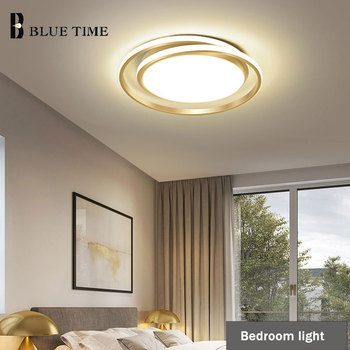 Round LED Chandeliers For Bedroom Dining Room Living Room Kitchen Study Room Ceiling Chandeliers Lighting Home Luminarias Gold gold led chandelier for bedroom living room dining room kitchen ceiling chandeliers home indoor lighting fixtures ac110v 220v