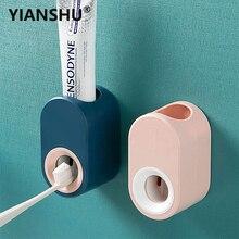 Dispensador automático de pasta de dientes para el hogar, soporte para pasta dental de montaje en pared, automático, exprimidor de pasta dental, seguridad para la salud