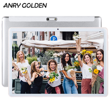 ANRY RS10 10.1 inch Tablet MTK6580 Quad Core 1280 x 800 IPS Screen Dual Sim 1GB RAM 16GB ROM Android Tablet PC teclast p80x 8 inch tablet android 9 0 daul 4g phablet sc9863a octa core 1280 800 ips 2gb ram 16gb rom tablet pc gps dual camera