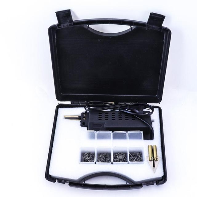 Carro Kit de Reparação De Carros de Plástico Tocha de Soldagem 210V 240V Plug UE Carenagem Corpo Auto Ferramenta Grampeador Quente