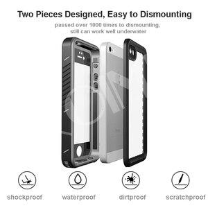 Image 5 - Custodia impermeabile reale per iPhone 11 Pro X XS Max 5s 6 6S 7 8 Plus SE 2020 custodia protettiva antiurto per immersione allaperto
