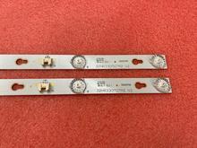 2個ledバックライトストリップtellfunken TF LED32S19 32S3750 32HR330M07A2 V2 LVW320CSOT 32D700 HR 56613 12785 YHA 4C LB320T YHL