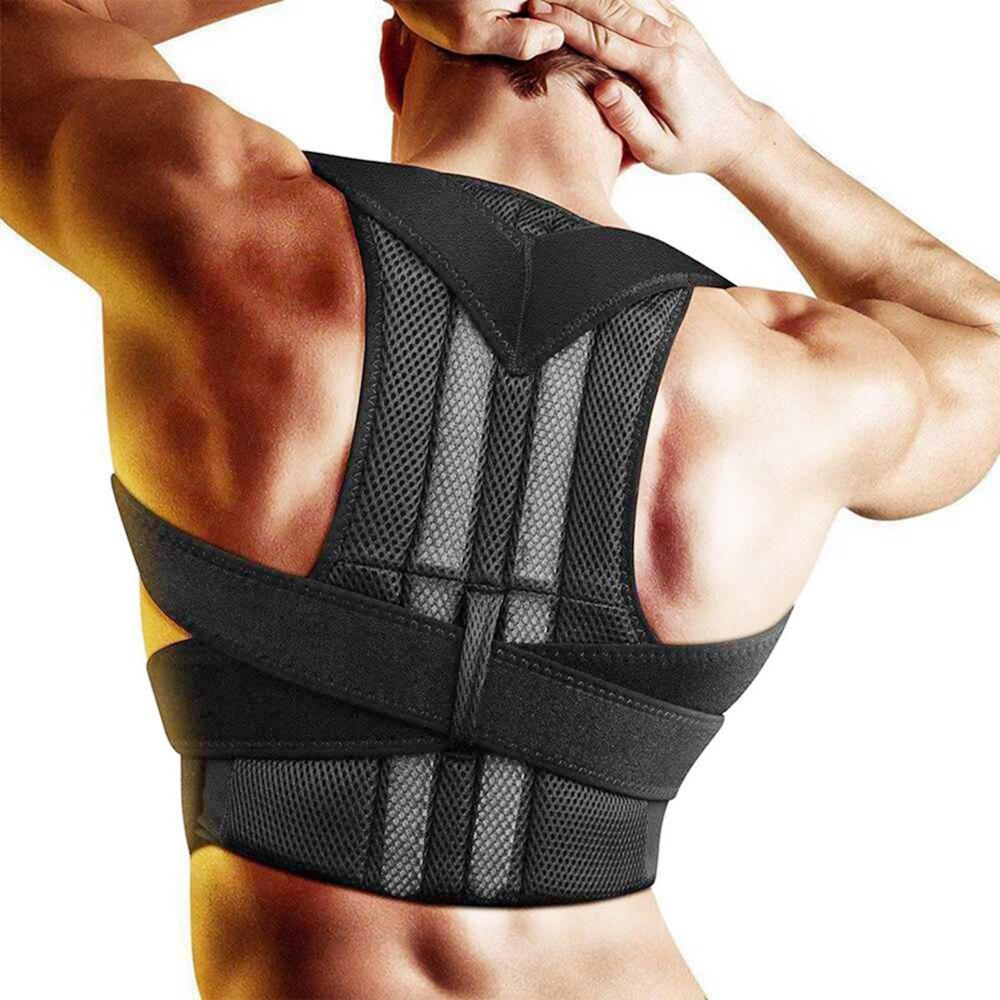 Adult Corrector Posture Body Shaper Back Plate Posture Corrector Shoulder Support Belt Orthopedic Posture Unisex Brace Girdle