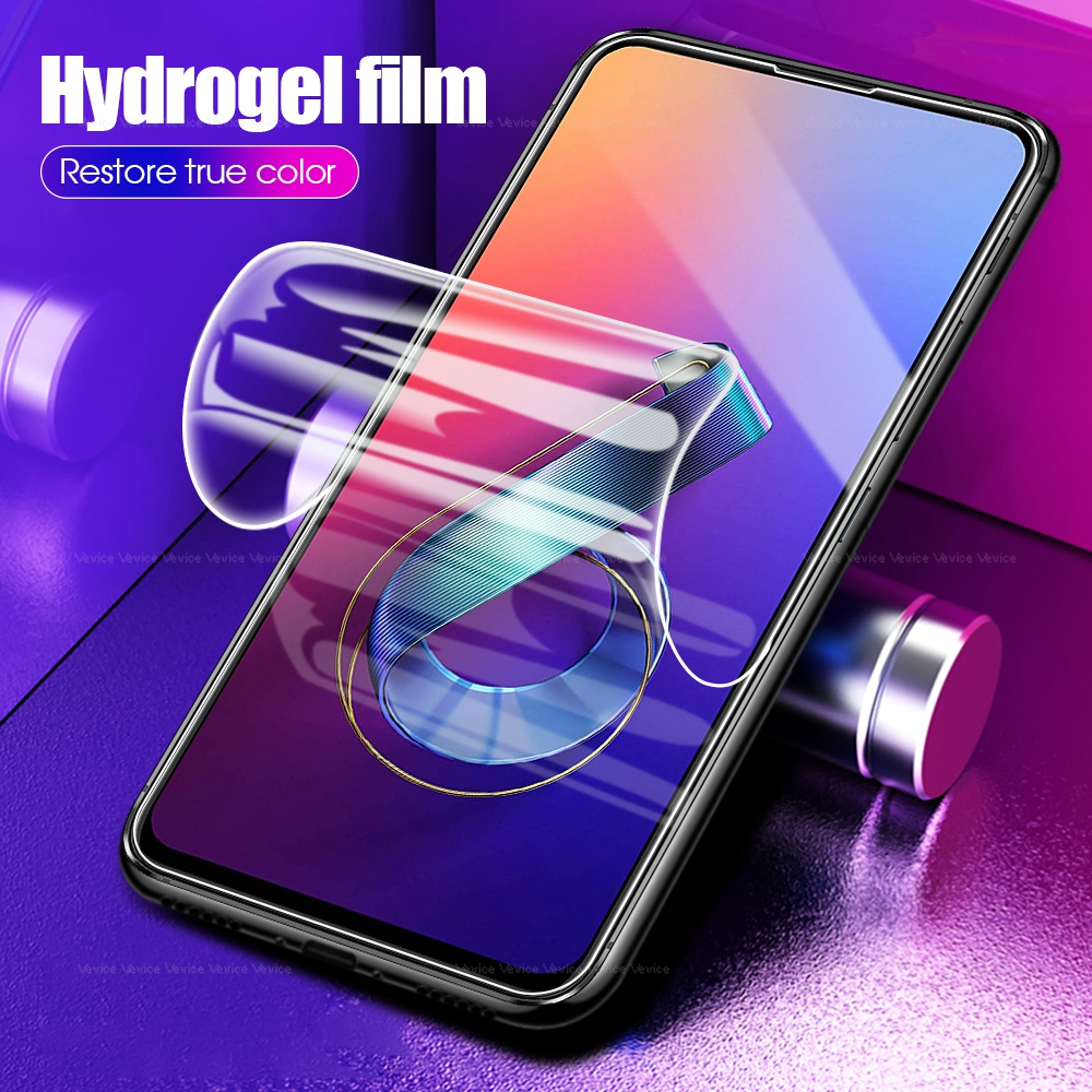 Full Protective Soft Hydrogel Film For Asus Zenfone Max Pro M1 ZB601KL ZB602KL Pro M2 ZB633KL ZB631KL 3 4 Max ZC553KL 6 ZS630KL
