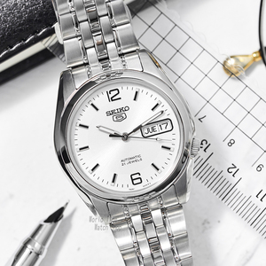 Image 3 - セイコー腕時計メンズ 5 自動時計を高級ブランド防水スポーツメンズ腕時計セットメンズ腕時計防水時計レロジオmasculino