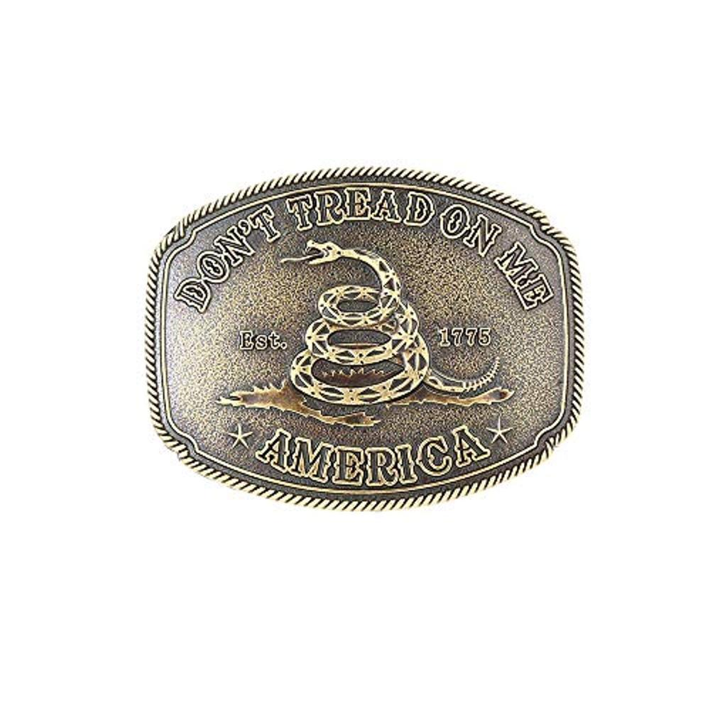 The Snake Pattern  Belt  Buckle For Man Western Cowboy Buckle Without Belt Custom Alloy Width 4cm