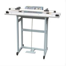 SF-800 Pedal sealing machine for plastic bag with the knife cutting function , Pedal Impulse Plastic bag Sealer(China)