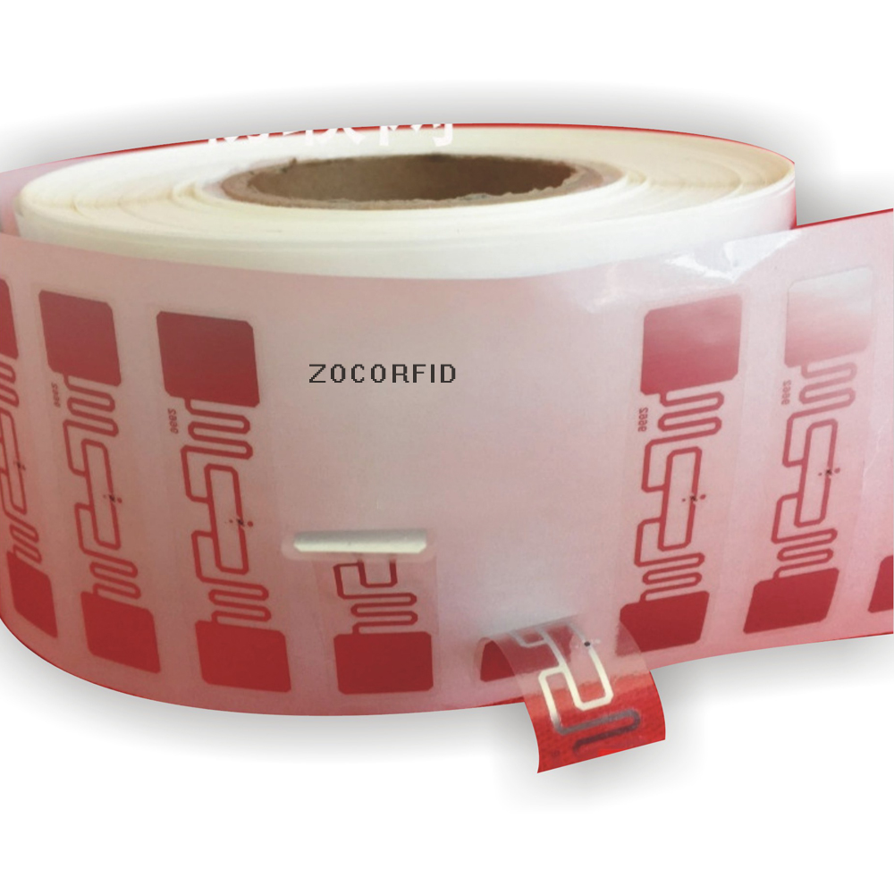 Купить с кэшбэком 2000pcs  RFID UHF 860 ~ 960 MHZ Automated production line electronic tags ISO 18000-6 - c RFID card operating
