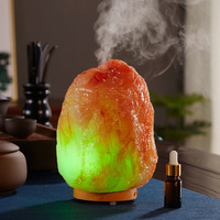 Mute Atmosphere Humidifier Aromatherapy Machine Household Resin Salt Mine Essential Oil Fragrance Lamp Increase Wet Machine