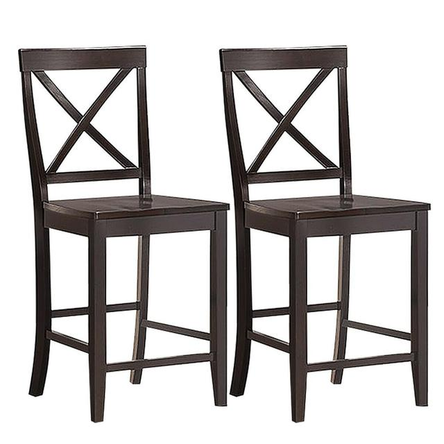"""Set of 2 24"""" Counter Height Barstools 1"""