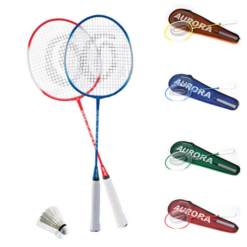Racket Sports Racket School Badminton Nylon Ferroalloy Sporting Goods Toys Lightweight Movement Badminton Racket Professional