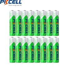 Аккумуляторные батареи pkcell 16 шт 12 в aaa nimh 1000 мАч