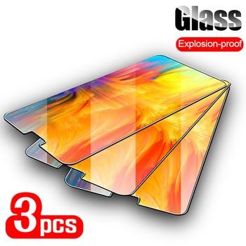 Перейти на Алиэкспресс и купить 3 шт. закаленное стекло для Cubot Power Rainbow 2 9H ультра тонкий протектор экрана для Cubot X18 Plus X19 X16 X15 R9 R19 R15 стекло