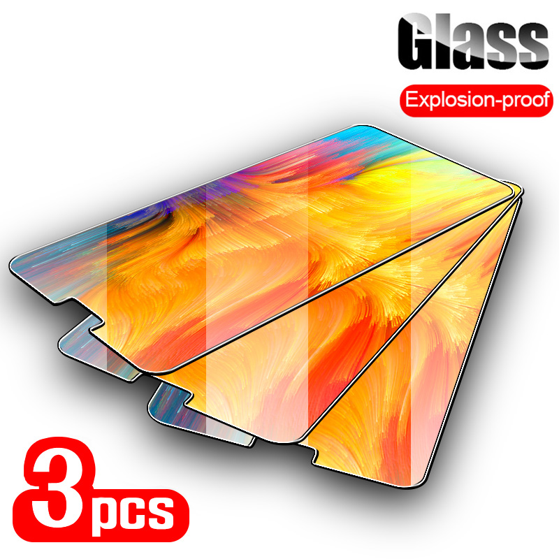 3PCS Tempered Glass For Cubot Power Rainbow 2 9H Ultra Thin Screen Protector For Cubot X18 Plus X19 X16 X15 R9 R19 R15 Glass