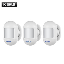 KERUI 433Mhz Wireless PIR Motion Sensor P831Mini-size Security Detector Rechargeable 5V USB P819 Motion Burglar Alarm System