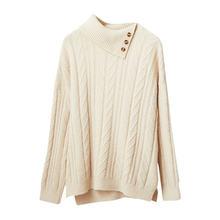 Пуловер с высоким воротником свитер для женщин 2020 новая модная