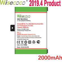 Wisecoco 2000mAh Battery For Pocketbook Pro 602/603/612/902/903/912/920 Latest Production High Quality Battery+Tracking Number