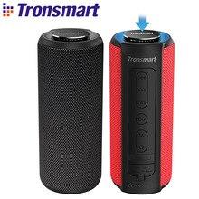 Tronsmart T6 Plus Bluetooth динамик портативные колонки 40 Вт сабвуфер IPX6 Водонепроницаемый Саундбар с голосовым ассистентом, TWS