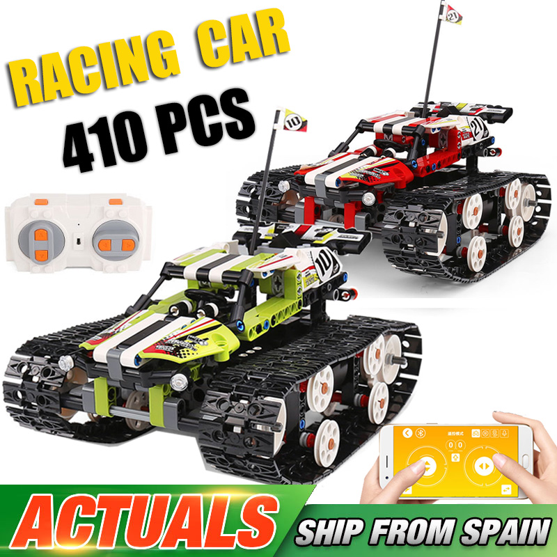 20033 Technic Series The RC Track Remote control Race Car Building Blocks Bricks Educational Toys Compatible with Lepining 42065|block bricks|building blocksbuilding blocks bricks - title=