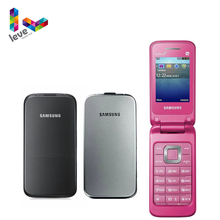 Original Samsung C3520 Flip Unlocked Mobile Phone 2 4 Inch GSM 1 3MP Refurbished Cellphone cheap Detachable ≤512MB Other KR(Origin) Others NONE Li-Ion 800mah Nonsupport english Russian French Spanish POLISH Portuguese