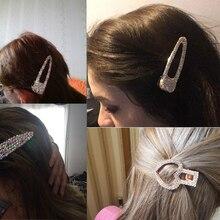 Woman Pearl Hair Clips