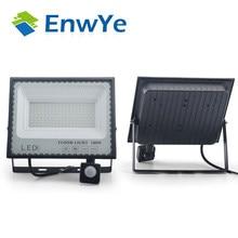 PIR Motion Sensor LED Flood Light 30W 50W 100w Outdoor Wall Light 220VWaterproof LED Spotlight Street Light Outdoor Flood Light