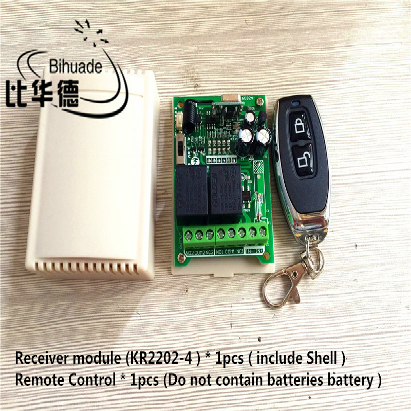 315Mhz Universal Wireless <font><b>Remote</b></font> <font><b>Control</b></font> Switch AC220V 2CH Relay Receiver Module and RF <font><b>315</b></font> <font><b>Mhz</b></font> <font><b>Remote</b></font> <font><b>Controls</b></font> image