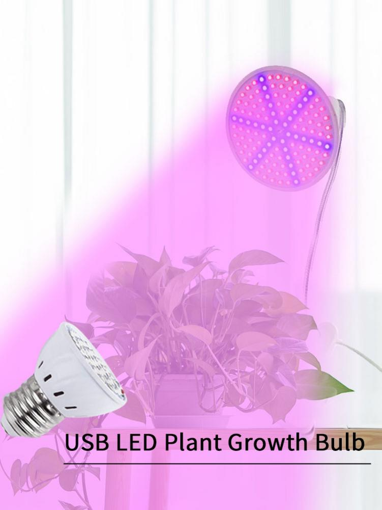 E27 85-265V LED Plant Lamp Plant Growth Light For Greenhouse Growbox Cultivation Workshop Vegetables Flower Grow Faster