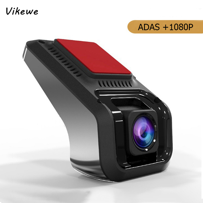 Vikewe ADAS Car DVR Camera Android USB Digital 1080P HD Video Recorder Camcorder Hidden Night Vision Dash Cam Registrar Dashcam image