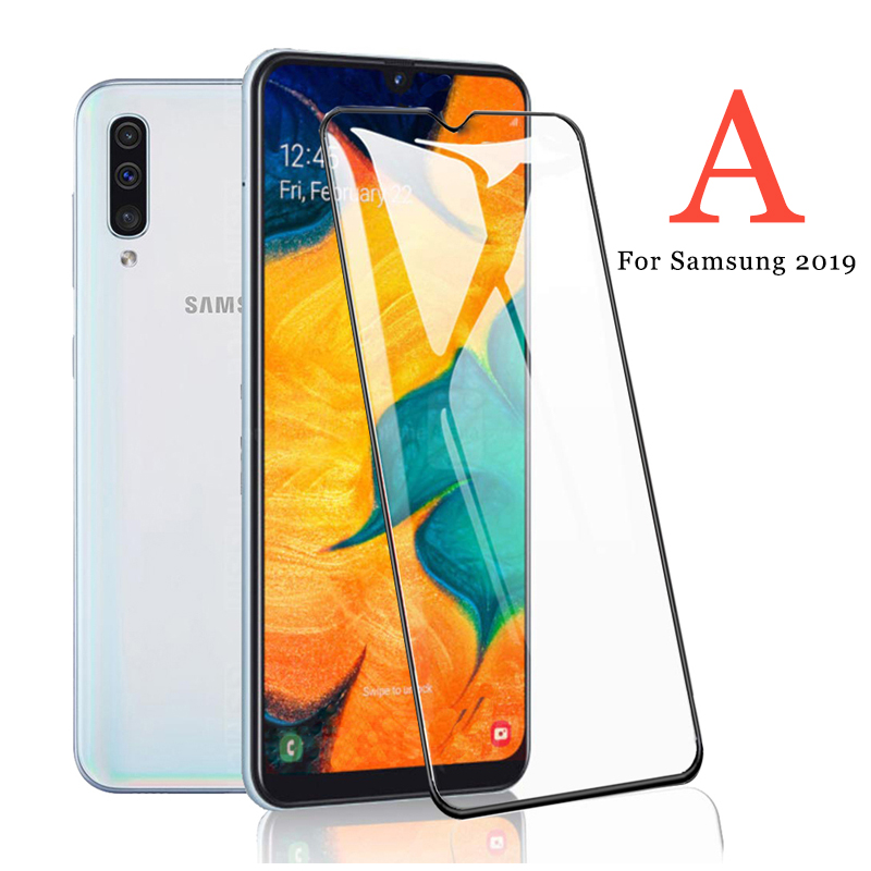 Tempered Glass On The For Samsung Galaxy A20 A30 A50 A70 Armor Sansung 30a 20a A 30 70 20 50a 2019 Tremp Protective Film Safety