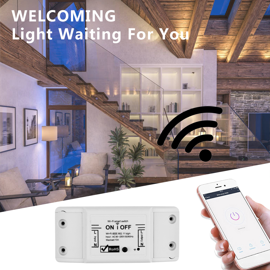 Smart Remote Control Wifi On/Off Timer Wireless Switch Universal Disconnect Switch Home Appliance Controller For IOS/Android